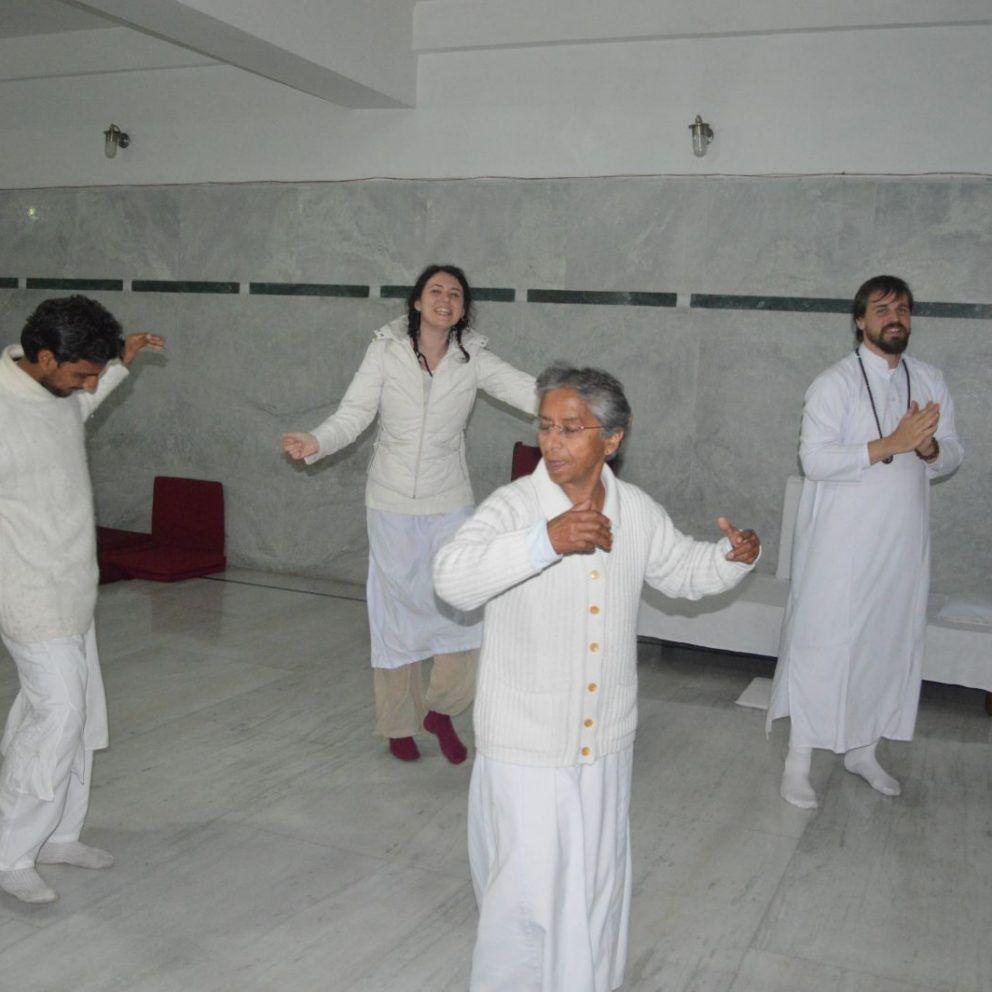 Osho meditace – Kroky dynamické meditace